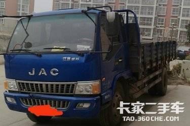 二手载货车 江淮骏铃 120马力图片