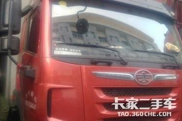 二手载货车 青岛解放 220马力图片