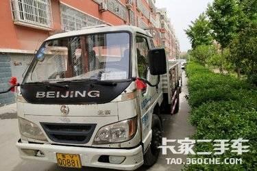 二手载货车 北京牌 130马力图片
