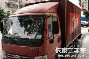 二手载货车 开瑞绿卡 116马力图片