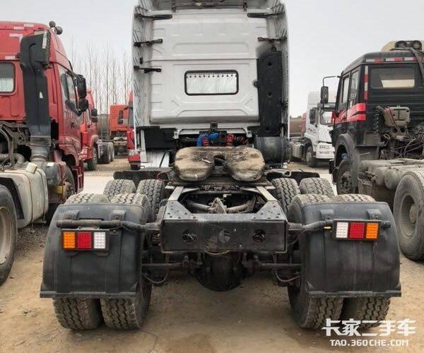 陕汽重卡 480马力 牵引车