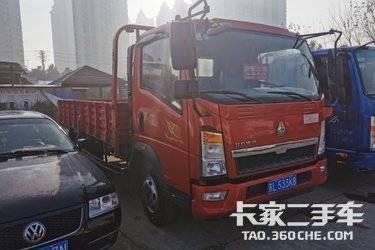 载货车  重汽HOWO轻卡 154马力
