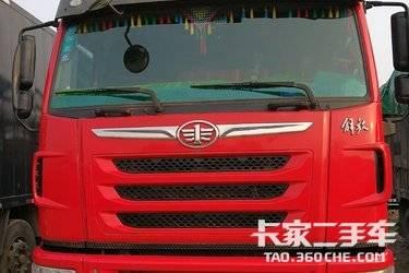 二手载货车 青岛解放 336马力图片