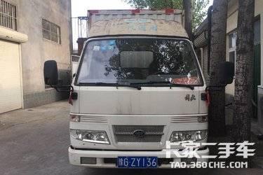 二手载货车 一汽解放轻卡 120马力图片