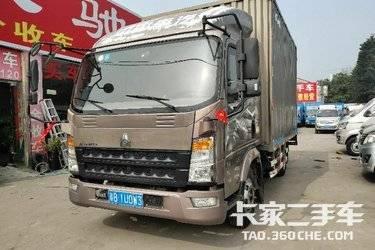 二手载货车 重汽HOWO轻卡 130马力图片