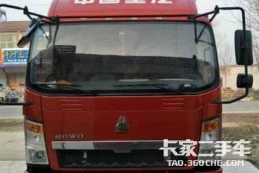二手载货车 重汽HOWO轻卡 153马力图片