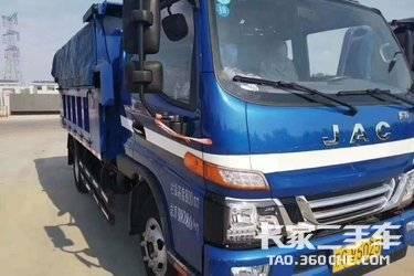 二手自卸车 江淮工程车 116马力图片