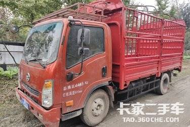 二手载货车 大运轻卡 105马力图片