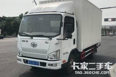 二手卡车载货车  青岛解放 120马力