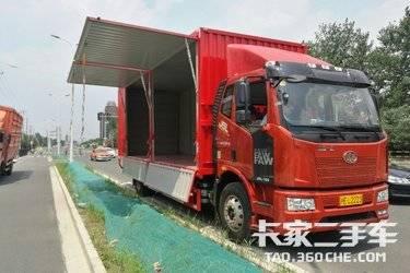二手载货车 一汽解放 180马力图片
