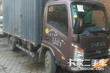 二手载货车 唐骏汽车 110马力图片