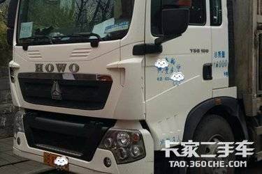 二手载货车 中国重汽 9.900马力图片