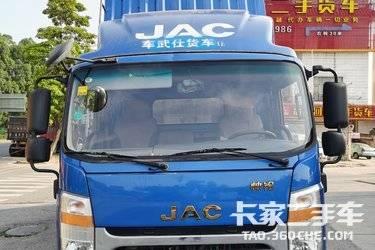 二手自卸车 江淮工程车 154马力图片