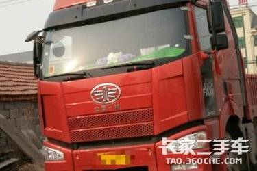 二手载货车 一汽吉林 350马力图片